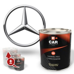 Pot de peinture Mercedes Polyuréthane brillant direct